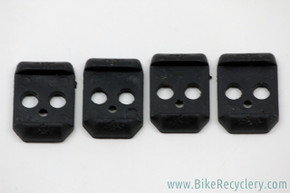 NOS Onza H.O. Pedal Elastomers: Black - Extra Firm (Set of 4)