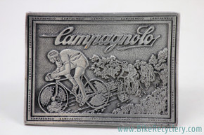 Campagnolo Belt Buckle: Pewter - 1975 Continental Divide - Rectangle