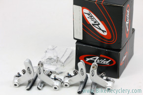 Avid Shorty 15C Cantilever Brakeset: Silver - Front & Rear (NEW)