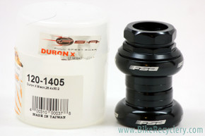 "FSA Duron X 1"" Threaded Headset: Black (NEW)"