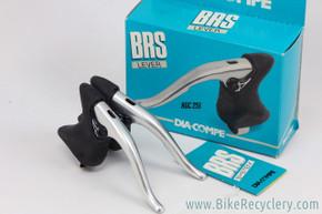 NIB/NOS Aero Gran Compe BRS ACG-251 / BRS 400 Brake Levers: Silver
