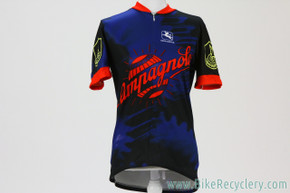 Campagnolo / Giordana Cycling Jersey: Medium - Blue/Red (EXC)