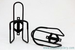Vintage Jim Blackburn Water Bottle Cages: Early 1980's - Black (Near Mint, pair)