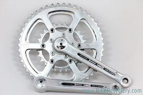 Specialties TA Pro 5 Vis Cyclotouriste Crankset: 160mm - English - Closed Pedal Holes (EXC+)