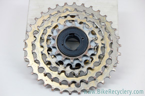 Suntour Pro Compe Custom-Built  5-Speed Freewheel: Wide Range Half Step 14-34T - Touring/MTB (Near Mint)