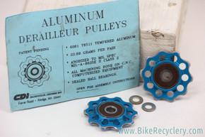 Carmichael Designs Jockey Wheels: Bullseye Alternative - Cobalt Blue (EXC)