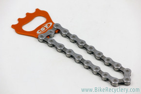 Bicycle Chain Bottle Opener: Ultegra and Orange Ano