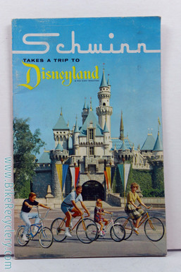 1964 Schwinn Disneyland Consumer Catalog / Brochure - First Year of Stingray!