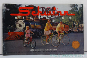 1970 Schwinn Consumer Catalog / Brochure - 75th Anniversary Diamond Jubilee