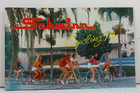1973 Schwinn Cycles Consumer Catalog / Brochure (mint)