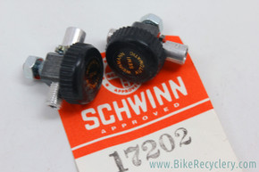 NIB/NOS Weinmann Semi-Automatic Brake Cable Adjusters: 1980's BMX Dia-Compe MX1000 (Pair)