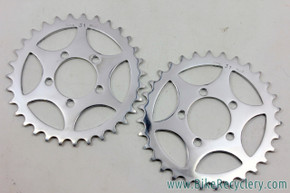 NOS TA Tandem Crossover Timing Chainring Set: 31t - Ref 201 - 50.4mm (pair)