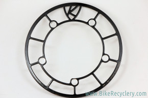 130mm BCD Chainring Guard: Black - 44t max - Black (near mint)