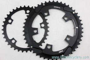 Praxis Works Cyclocross Chainring Set: 46/36t x 110mm - Black - 11sp & 10sp (NEW)