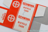 "*second of these ordered gets this one, that's mint but has a pen mark above ""Schwinn"" here"
