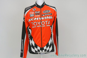 NEW Schwinn Toyota Factory Race Team Midweight Jacket: Med/LG - Pro Team-Issued