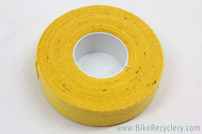 Yellow Cotton / Cloth Handlebar Tape: One Double Roll (for one handlebar)