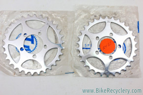 NIB/NOS TA Tandem Crossover Timing Chainring Set: 30t - Ref 201 - 50.4mm (pair)