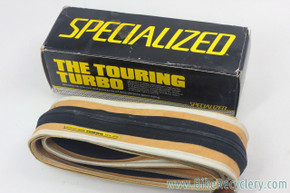 "NIB/NOS Specialized Turbo Touring Road Tire: 27"" x 1 1/8"" - Gumwall - Folding"