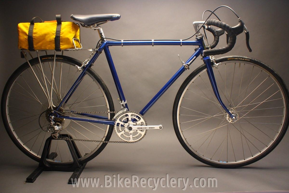 1977 Trek TX500 Touring Bike Frame/Fork ONLY: 49/53cm, 1st Year Trek ...