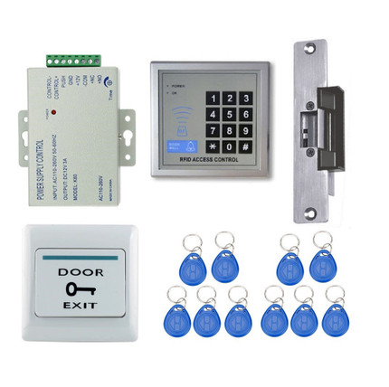 ... Door Access Control System Strike Lock Full Kit. Image 1