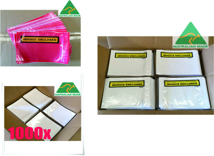 Invoice Enclosed Envelopes Sticker Packaging Suppliers - Invoice enclosed pouches