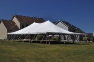 30 x 80 Sectional Canopy Pole Tent Shown as 30x60
