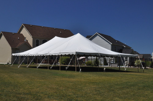 30 x 80 Sectional Canopy Pole Tent Shown as 30x60 & 30 x 80 Sectional Canopy Pole Tent Rental - ABCWNYrental