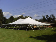 40 x 60 Sectional Canopy Pole Tent shown as 40x80