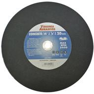 """12""""X1/8""""X20mm Concrete Cutoff Wheel"""