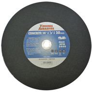 "14""X1/8""X20mm Concrete Cutoff Wheel"