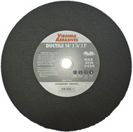 "14""x1/8""x20mm Ductile Cutoff Wheel"