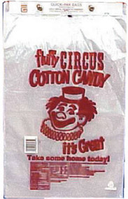 Gold Medal Printed Cotton Candy Bags 100Ct