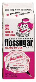 Gold Medal Pink Vanilla Cotton Candy Flossugar
