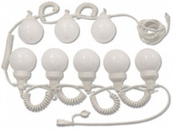 String Lights (30' White Globe)