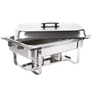 8 Qt. Full Size Stainless Steel Chafer