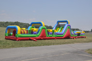 Mega Course: 3 Piece Obstacle Course Rental
