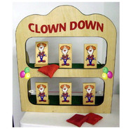 Tip a Clown Tabletop Carnival Game