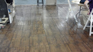 12' x 12' Wooden Dance Floor 1