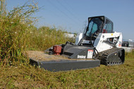 Skid Steer Brush Hog Attachment Rental