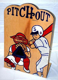 Pitchout Baseball Tabletop Carnival Game Rental Starting At: