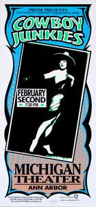 Cowboy Junkies Poster 2001 Original Signed Silkscreen by Mark Arminski