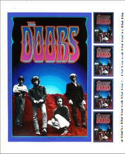 Doors Poster UNCUT PROOF Artrock Series PCL029 1990 Very Rare Gary Grimshaw
