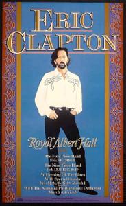 Eric Clapton Poster Royal Albert Hall 1991 24 Nights 48 Shows Gary Grimshaw