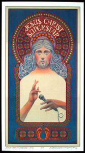 Jesus Christ Superstar Poster Full-Sized Artist Edition Hand-Signed David Byrd