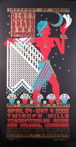 Dirty Dozen Brass Band Poster Jazzfest NOLA 2003 Original Signed by Gary Houston