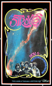 Strokes Poster at Nextstage Grand Prairie Texas 2003 Signed Bob Masse