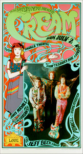 Cream John Mayall's Bluesbreakers w Jeff Beck Saville Theater London 1967