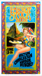 Jimmy Buffett Parrot Heads 7th Annual Meeting of the Minds Fan Club Poster