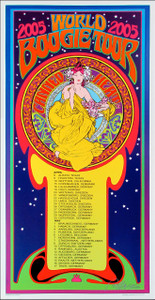 Canned Heat Poster 2005 World Boogie Tour Original Signed Litho Bob Masse